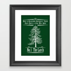 No. 1 The Larch Framed Art Print