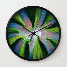 Moonlight Meeting Wall Clock