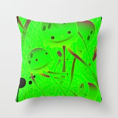 squids Throw Pillow