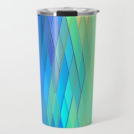 Re-Created Vertices No. 32 by Robert S. Lee Travel Mug