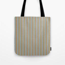 Robot Babies Stripes Tote Bag