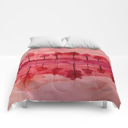 Hot Reflections Comforters
