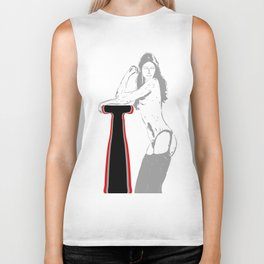 Night girl...) Biker Tank