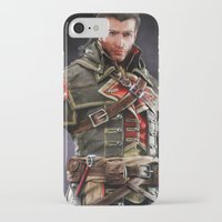 patrick iPhone & iPod Cases featuring Patrick Cormack by Tom Lee
