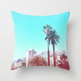 Summer in Buenos Aires Throw Pillow