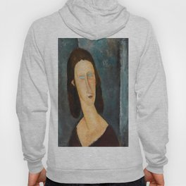 "Amedeo Modigliani ""Blue Eyes (Portrait of Jeanne Hébuterne) (1917)"" Hoody"