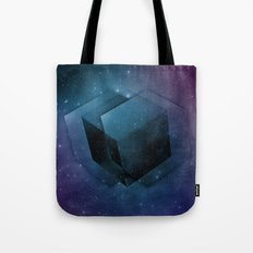 Space Cube Tote Bag