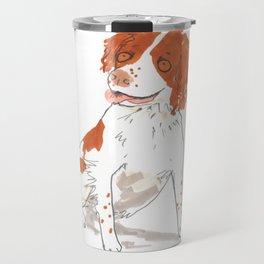 Springer Spaniel Dog Travel Mug