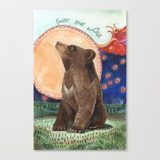 Sniff the Air Canvas Print