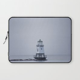 Burlington Breakwater North Lighthouse Laptop Sleeve