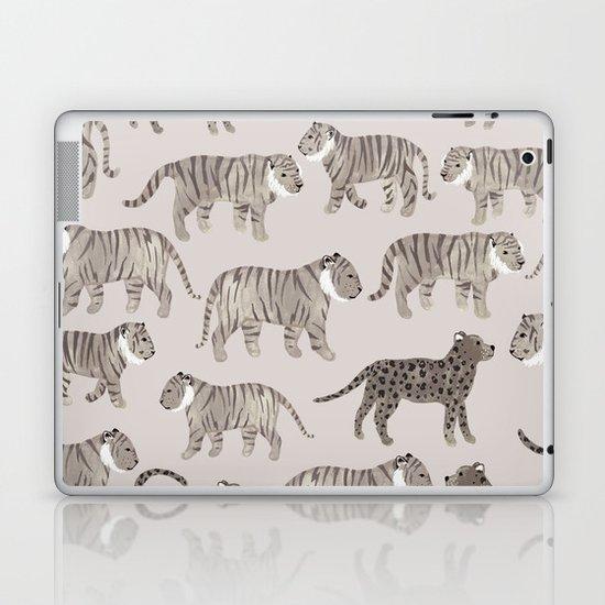 Gray Tigers Laptop & iPad Skin
