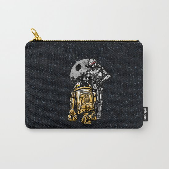 Daft Droids Carry-All Pouch
