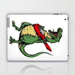 T-Rex + Keytar Laptop & iPad Skin