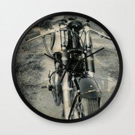 Bike owned by the Bushells Wall Clock