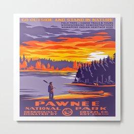Pawnee National Park Metal Print
