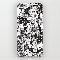 community iPhone & iPod Skins featuring Community Blowback by InariRaith
