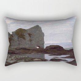 Claude Monet - Étretat Rectangular Pillow