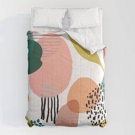 Abstract Modern Art Pattern 2 Comforters