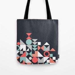 Modern Geometric 30 Tote Bag