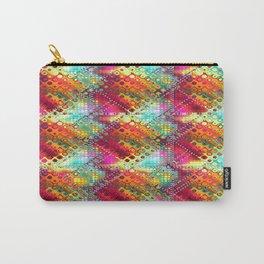 carré losange de couleur Carry-All Pouch