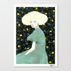 Iva Canvas Print