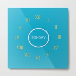 horloge  Metal Print
