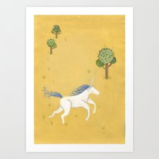 Unihorn Art Print