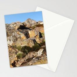Macro mountain Stationery Cards
