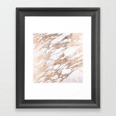 Marble LoVe Framed Art Print