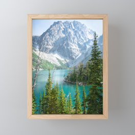 Lake Colchuck Framed Mini Art Print