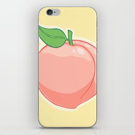 Peachy iPhone Skin