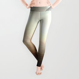 ice feather color Leggings