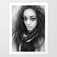 Hope in Her Eyes Art Print
