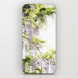 Wiisteria iPhone Skin