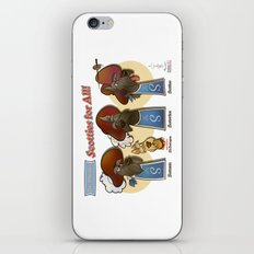 Scotties for all! iPhone & iPod Skin