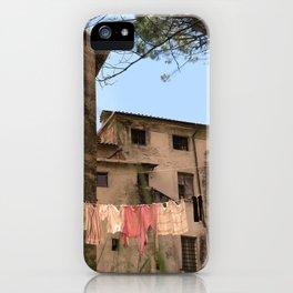 Ceserano Clothesline iPhone Case