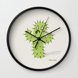Infected Spine  Wall Clock