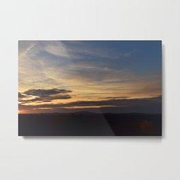 Fruitlands Sunset Metal Print