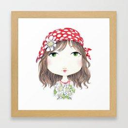 Gipsy Flowers Framed Art Print