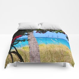 Turks & Caicos Sailboat Comforters