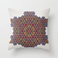 physics Throw Pillows featuring Blunt Physics. by Space Jungle