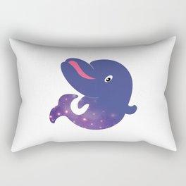 Universe  in Babydolphin Rectangular Pillow