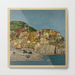 Of Houses and Hills Metal Print