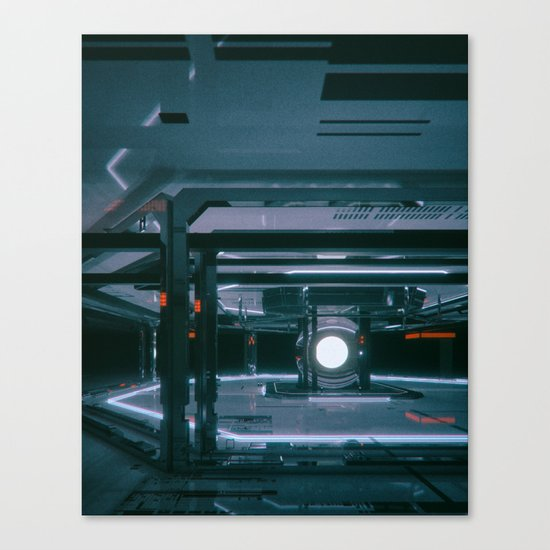OXYGEN.WHITE (everyday 10.22.16) Canvas Print