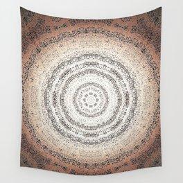 Vintage Ancient Words Mandala Wall Tapestry