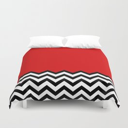 Black Lodge Dreams (Twin Peaks) Duvet Cover