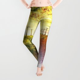 Autumn Fall Trees : Center of Attention Leggings