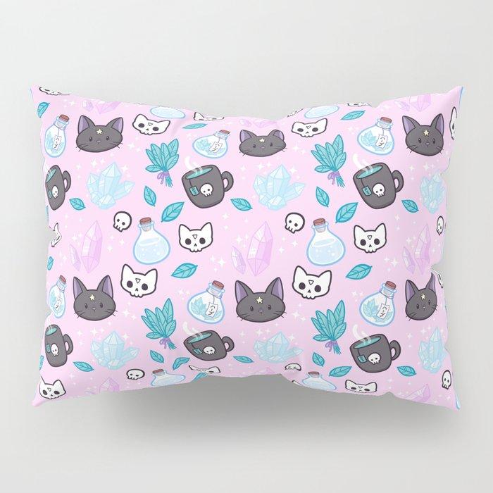Herb Witch // Pink Pillow Sham