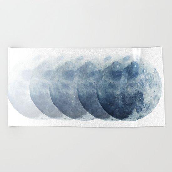 Full Moon Beach Towel