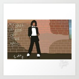 Off The Wall Art Print
